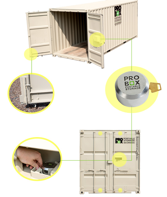 Secure Shipping Containers | Pro Box Portable Storage